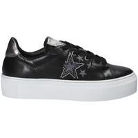 Schoenen Dames Lage sneakers Janet Sport 40914 Zwart