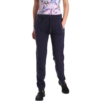 Textiel Dames Trainingsbroeken Key Up GE42 0001 Blauw