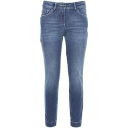 Textiel Dames Skinny jeans NeroGiardini A760110D Blauw