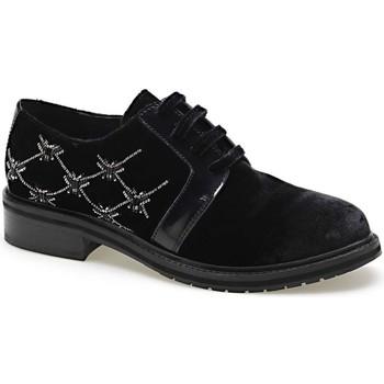 Schoenen Dames Derby Apepazza CMB03 Zwart