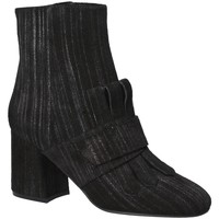 Schoenen Dames Enkellaarzen Apepazza LTZ02 Zwart
