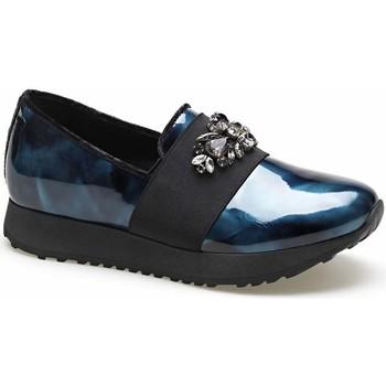 Schoenen Dames Instappers Apepazza MCT16 Blauw