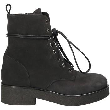 Schoenen Dames Enkellaarzen Mally 4235 Zwart