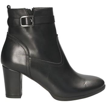 Schoenen Dames Enkellaarzen Mally 4473 Zwart