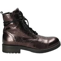 Schoenen Dames Laarzen Mally 5038 Bruin