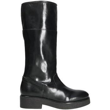 Schoenen Dames Hoge laarzen Mally 5096Z Zwart
