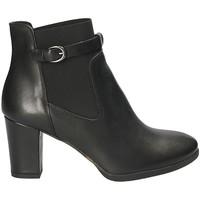 Schoenen Dames Enkellaarzen Mally 5114 Zwart