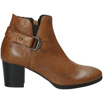 Schoenen Dames Enkellaarzen Mally 5404 Bruin