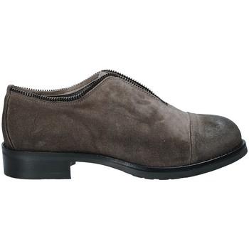 Schoenen Dames Derby Mally 5523 Grijs