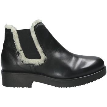 Schoenen Dames Enkellaarzen Mally 5894 Zwart