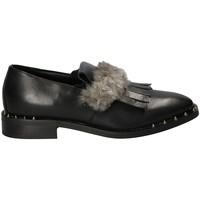 Schoenen Dames Mocassins Mally 5970 Zwart