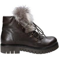 Schoenen Dames Laarzen Mally 5985 Bruin