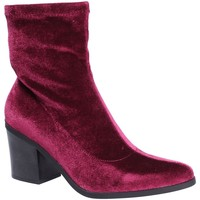 Schoenen Dames Enkellaarzen Fornarina PI18LI1126A077 Rood