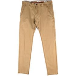 Textiel Heren Chino's Gaudi 811FU25033 Beige