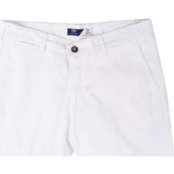 Textiel Heren Korte broeken / Bermuda's Sei3sei PZV132 81497 Wit