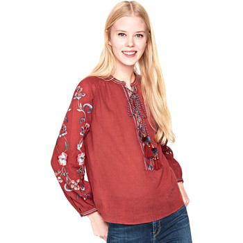 Textiel Dames Tops / Blousjes Pepe jeans PL303349 Rood
