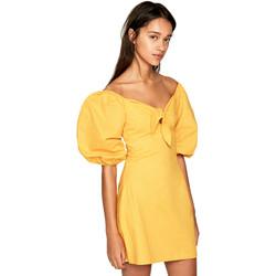 Textiel Dames Korte jurken Pepe jeans PL952666 Geel