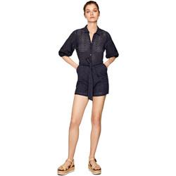 Textiel Dames Jumpsuites / Tuinbroeken Pepe jeans PL230294 Blauw