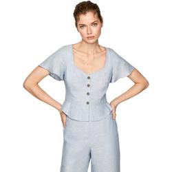 Textiel Dames Tops / Blousjes Pepe jeans PL303675 Blauw