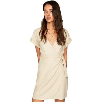 Textiel Dames Korte jurken Pepe jeans PL952662 Beige