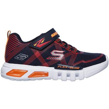 Schoenen Kinderen Lage sneakers Skechers 90542N Blauw
