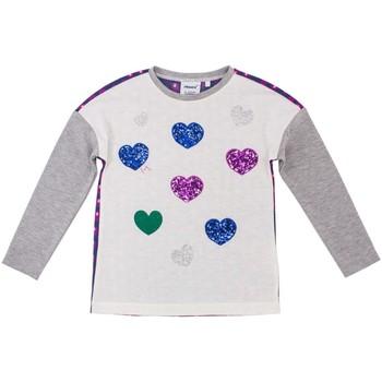 Textiel Kinderen T-shirts met lange mouwen Primigi 38212501 Grijs
