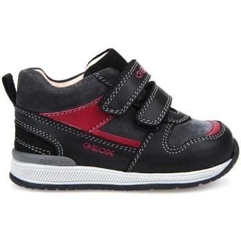 Schoenen Jongens Hoge sneakers Geox B720RC 08522 Blauw