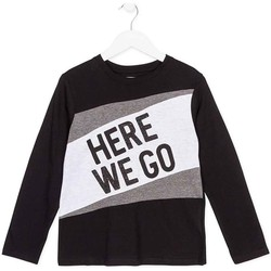 Textiel Kinderen T-shirts met lange mouwen Losan 723 1020AA Zwart
