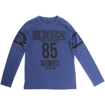 Textiel Kinderen T-shirts met lange mouwen Losan 723 1203AA Blauw
