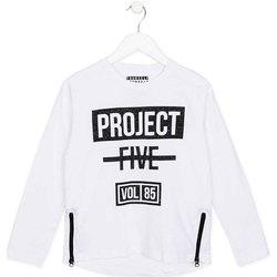 Textiel Kinderen T-shirts met lange mouwen Losan 723 1010AA Wit