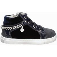 Schoenen Meisjes Hoge sneakers Nero Giardini A722470F Blauw