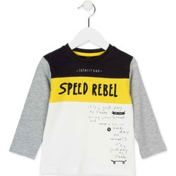 Textiel Kinderen T-shirts met lange mouwen Losan 725 1018AC Wit