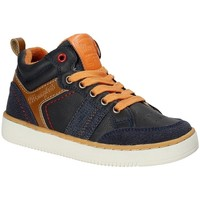 Schoenen Kinderen Hoge sneakers Wrangler WJ17227 Blauw