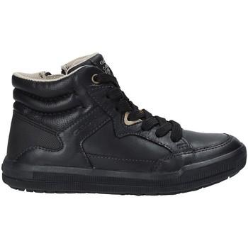 Schoenen Kinderen Hoge sneakers Geox J744AD 0BCCL Zwart