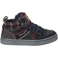 Schoenen Kinderen Hoge sneakers Wrangler WJ17225B Blauw