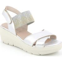 Schoenen Dames Sandalen / Open schoenen Grunland SA1880 Zilver