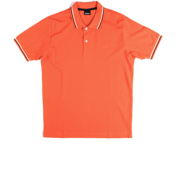 Textiel Heren Polo's korte mouwen Key Up 2Q70G 0001 Oranje