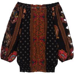 Textiel Dames Tops / Blousjes Desigual 19WWBW23 Zwart