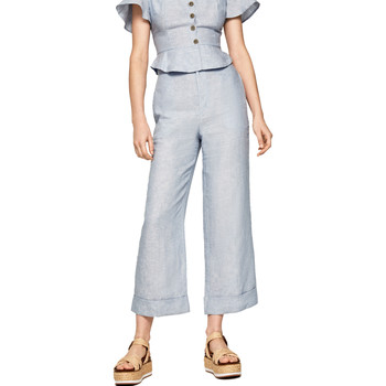 Textiel Dames Chino's Pepe jeans PL211360 Blauw