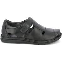 Schoenen Heren Sandalen / Open schoenen Grunland SA1515 Zwart