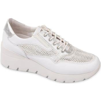 Schoenen Dames Lage sneakers Valleverde 18252 Wit