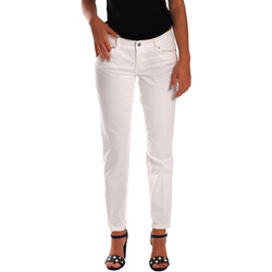 Textiel Dames Skinny jeans Gas 355661 Wit