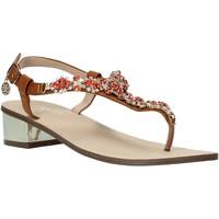 Schoenen Dames Sandalen / Open schoenen Gold&gold A20 GL540 Oranje