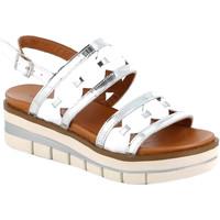 Schoenen Dames Sandalen / Open schoenen Grunland SA2541 Wit