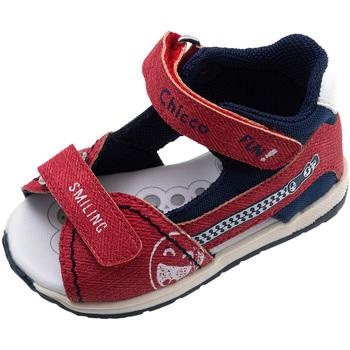 Schoenen Kinderen Sandalen / Open schoenen Chicco 01063480000000 Rood