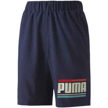 Textiel Kinderen Korte broeken / Bermuda's Puma 584184 Blauw