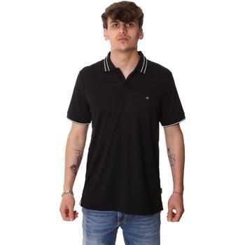 Textiel Heren Polo's korte mouwen Calvin Klein Jeans K10K105183 Zwart