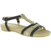 Schoenen Dames Sandalen / Open schoenen Mally 3828 Zwart