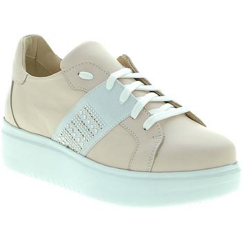 Schoenen Dames Lage sneakers Exton E04 Roze
