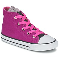 Schoenen Meisjes Hoge sneakers Converse ALL STAR PARTY HI Roze